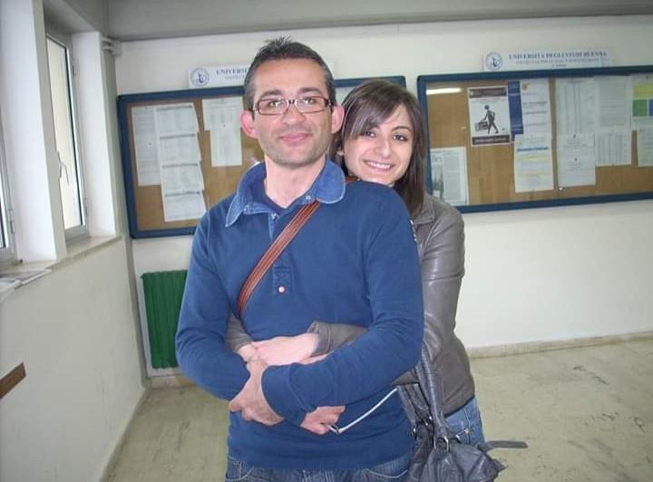 Gaetano Amoruso Eveljn Emmanuello 2009 studenti universitari Kore Enna (1)